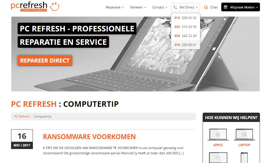 Blog - WordPress 010 | full stack development, Rotterdam